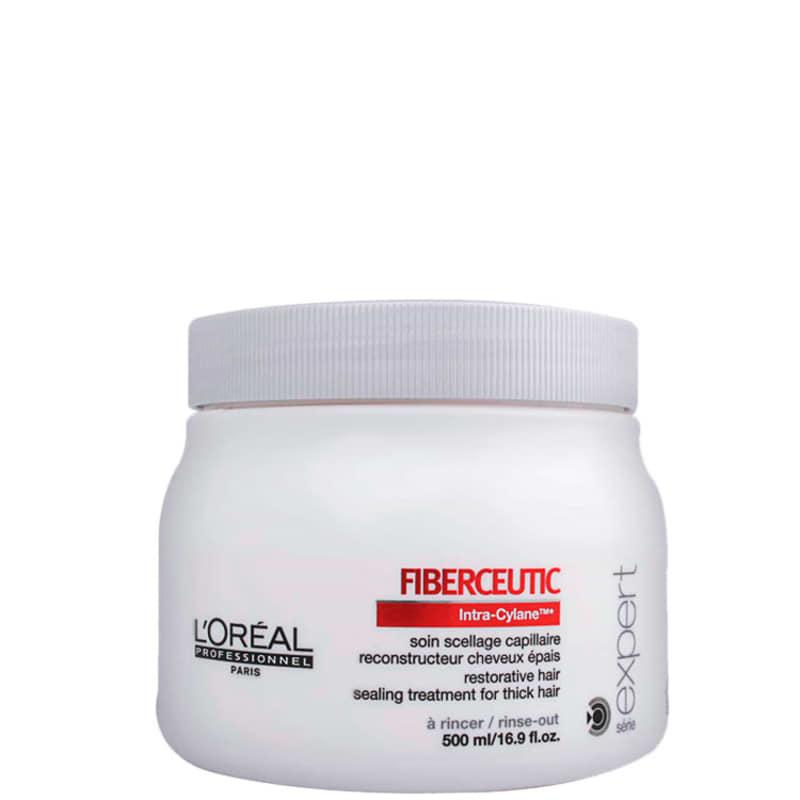 L'Oréal Professionnel Fiberceutic Restorative Hair Sealing Treatment For Thick Hair - Reconstrutor 500ml
