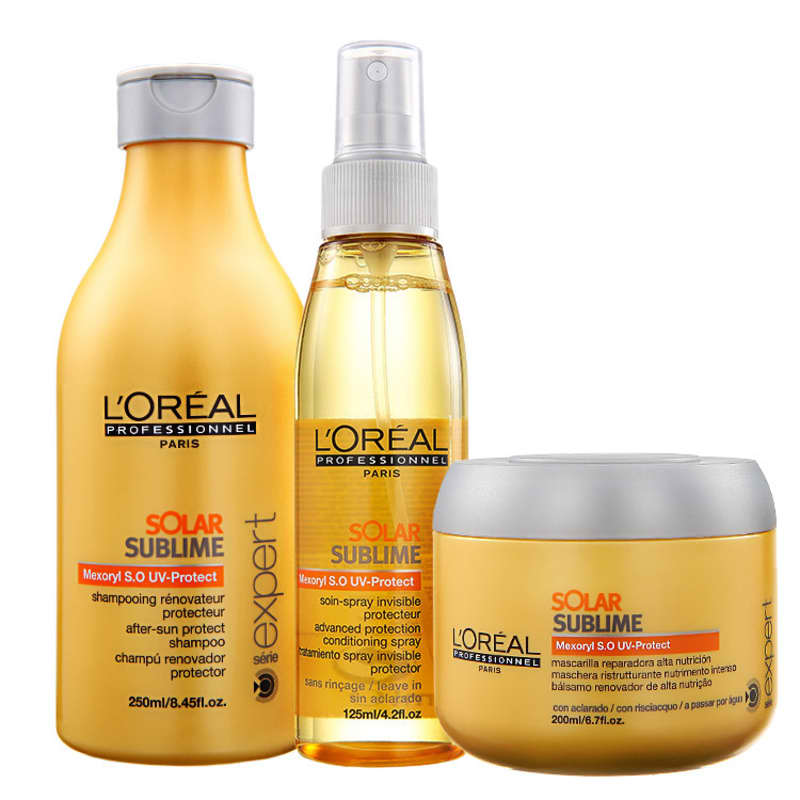 Kit L'Oréal Professionnel Expert Solar Sublime UV Protection (3 Produtos)