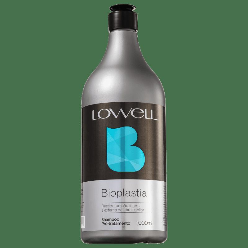 Lowell Bioplastia Capilar Pré-Tratamento - Shampoo Antirresíduo 1000ml