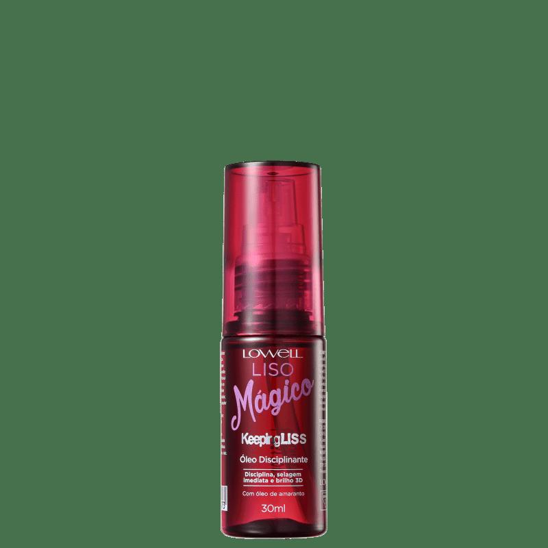 Lowell Keeping Liss Liso Mágico - Óleo Capilar 30ml
