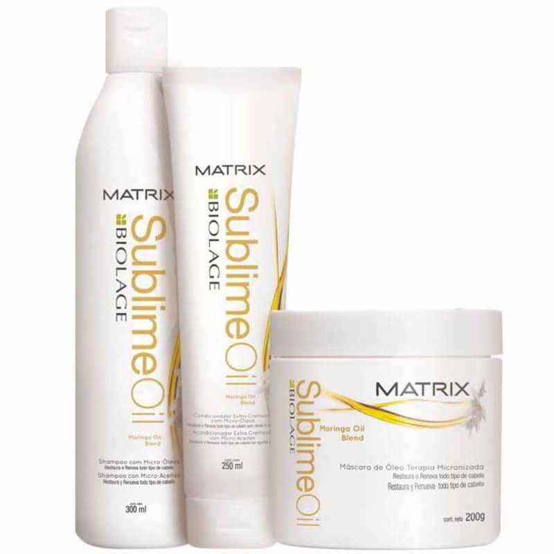 Matrix Biolage Sublime Oil Intense Kit (3 Produtos)