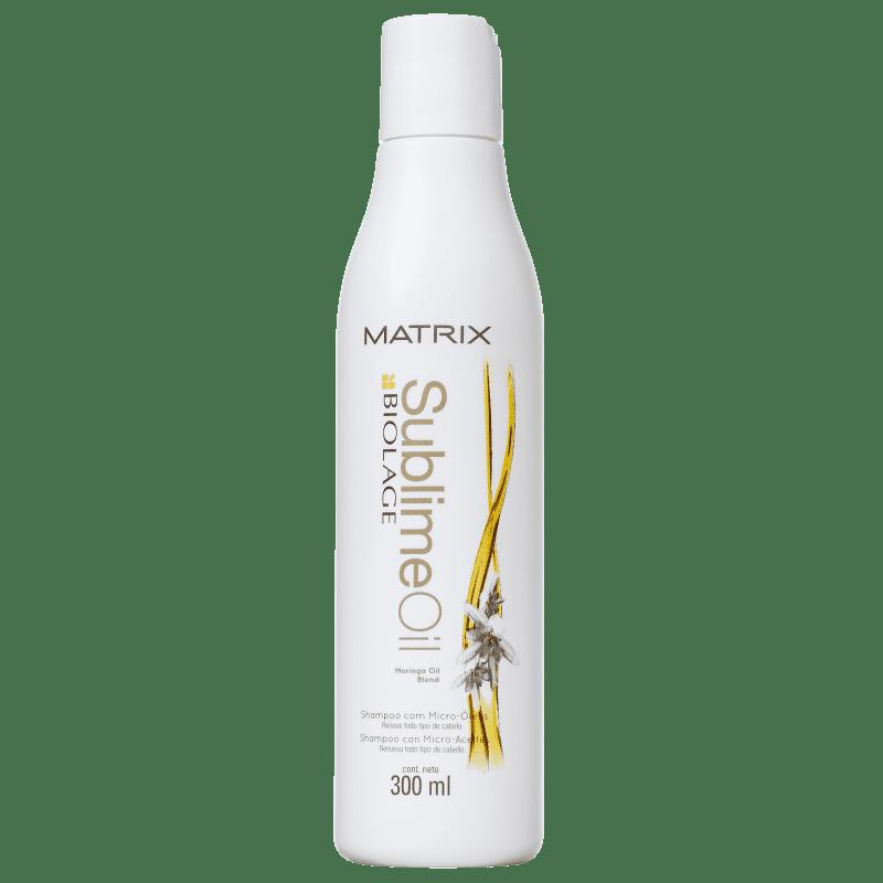 Matrix Biolage Sublime Oil Shampoo Com Micro-Óleos - Shampoo 300ml