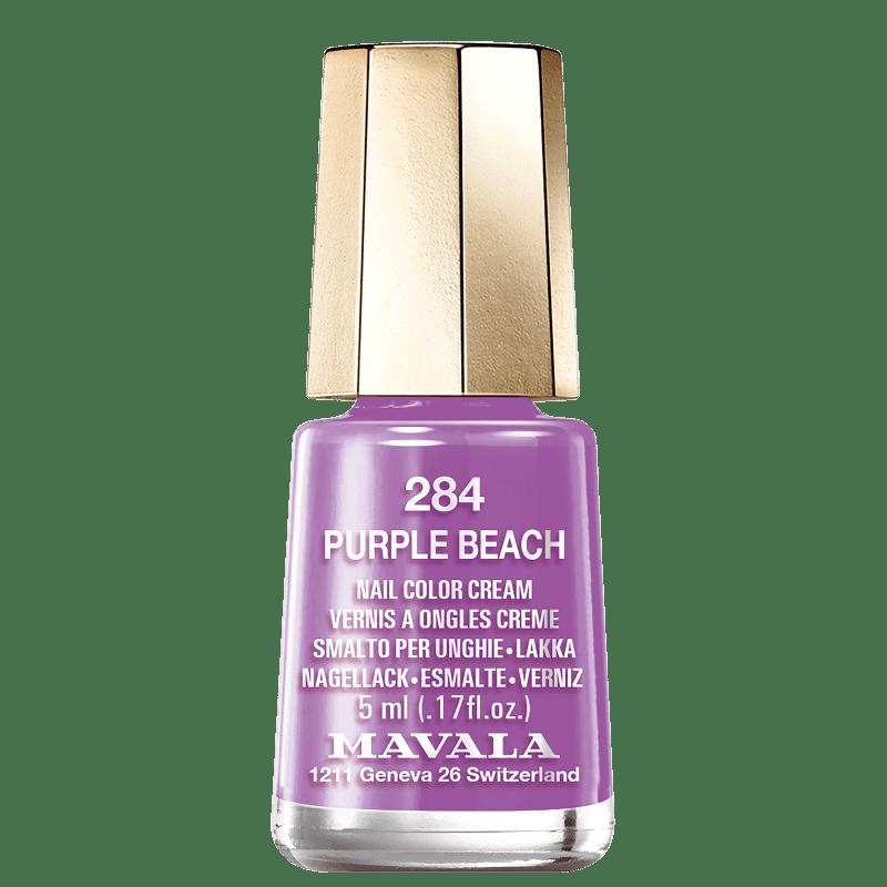 Mavala Mini Colours 284 Purple Beach - Esmalte Cremoso 5ml