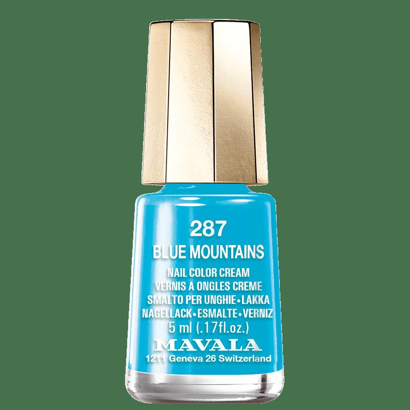 Mavala Mini Colours 287 Blue Mountains - Esmalte Cremoso 5ml