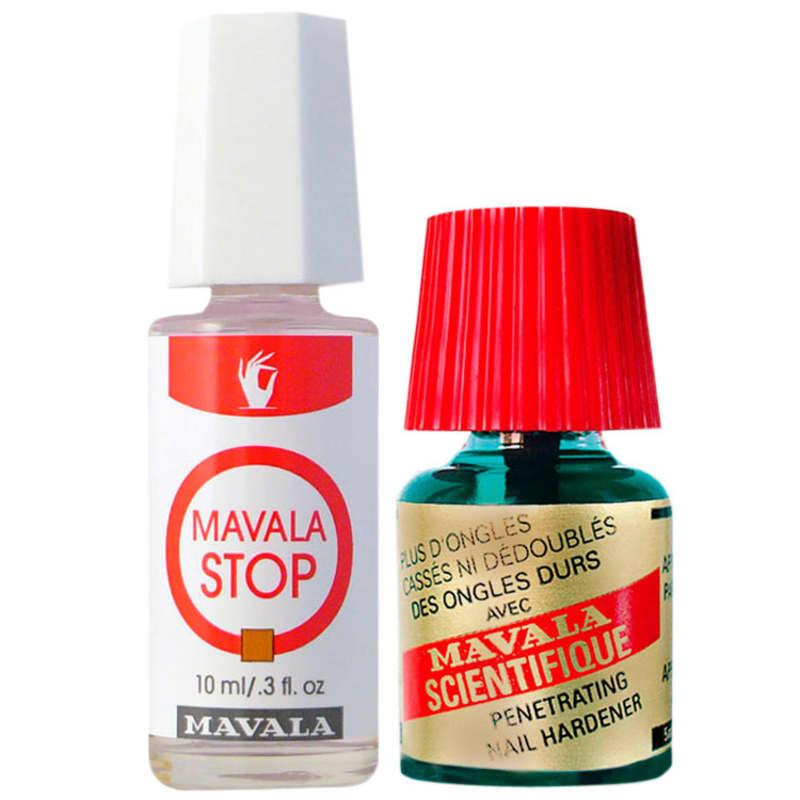 Kit Mavala Stop & Scientifique - Base 10ml + Endurecedor 5ml