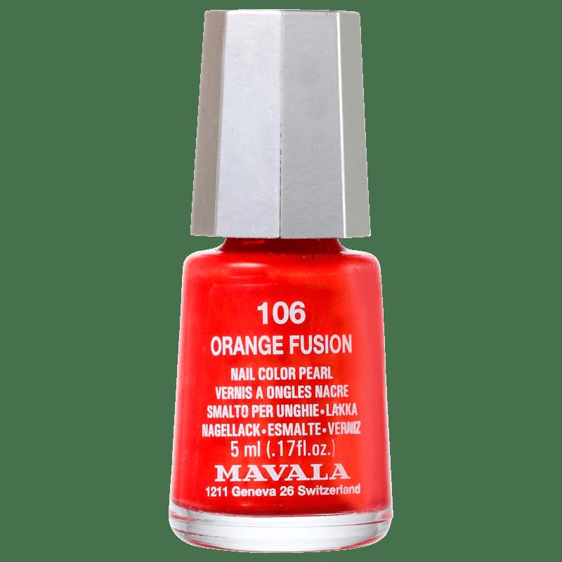 Mavala Techni Colors Orange Fusion - Esmalte Cremoso 5ml
