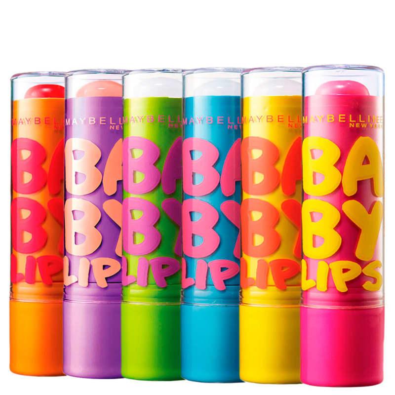 Kit Maybelline Baby Lips All (6 Produtos)