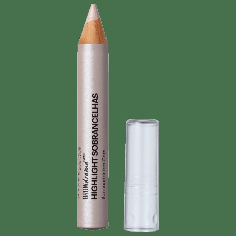 Maybelline Brow Drama Iluminador de Sobrancelhas Nude Perolado - Lápis para Sobrancelha 1,5g