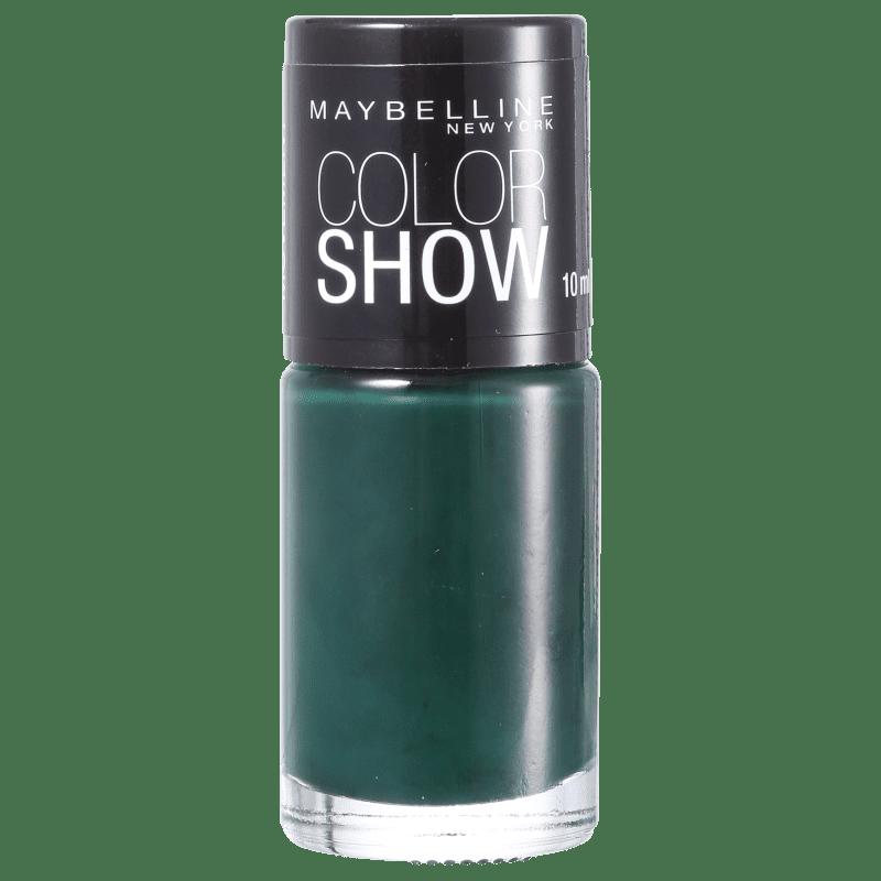 Maybelline Color Show 340 Green Movement - Esmalte Cremoso 10ml