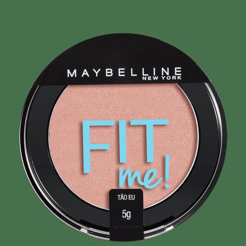 Maybelline Fit Me! 01 Tão Eu - Blush Cintilante 5g