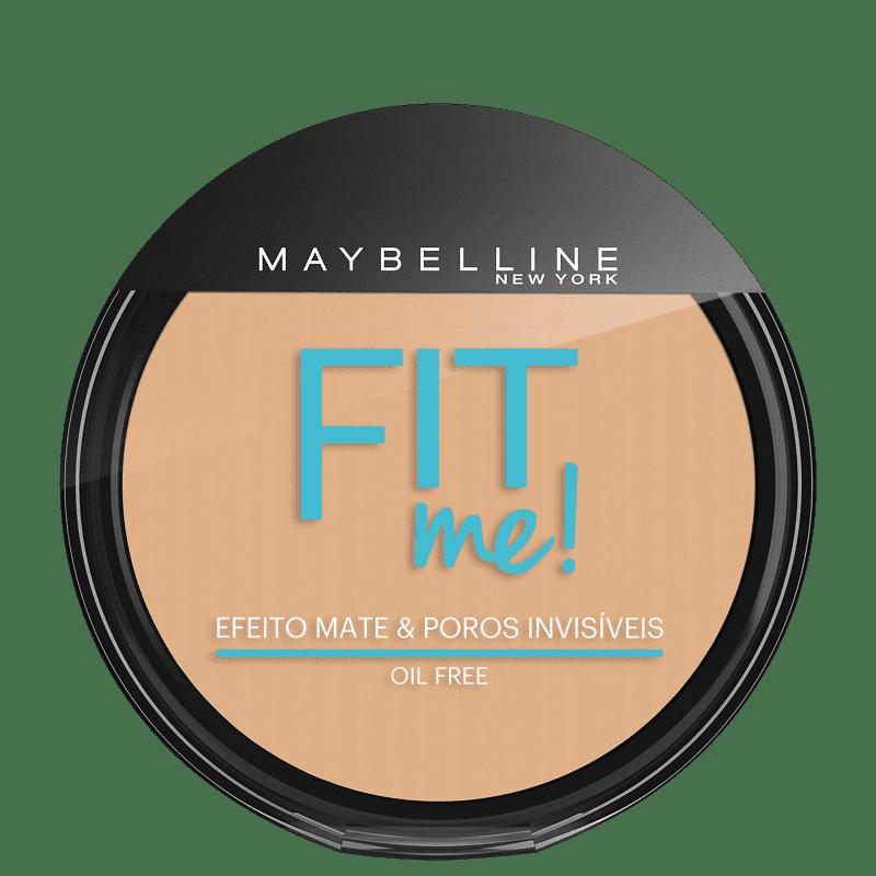 Maybelline Fit Me! Cor 140 Claro Singular - Pó Compacto Natural