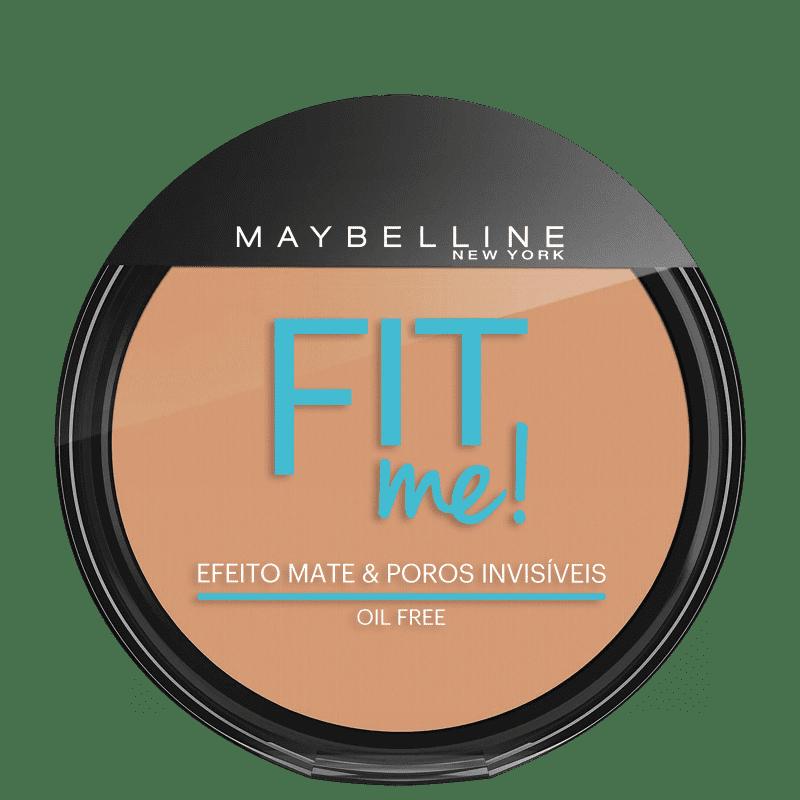 Maybelline Fit Me! Cor 200 Médio Único - Pó Compacto Natural