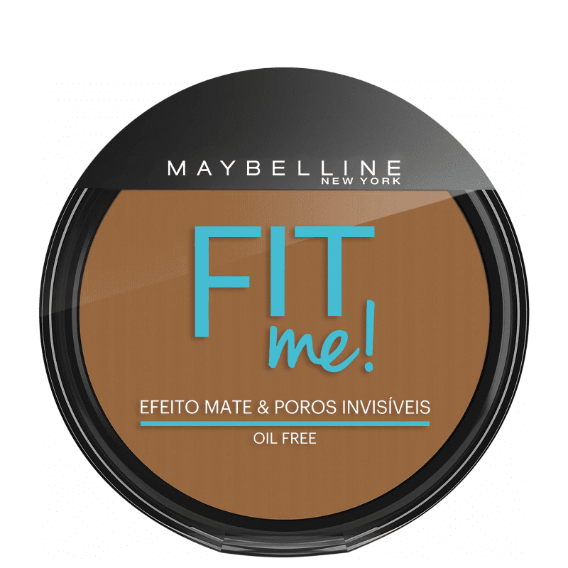 Maybelline Fit Me! Cor 300 Escuro Original - Pó Compacto Natural