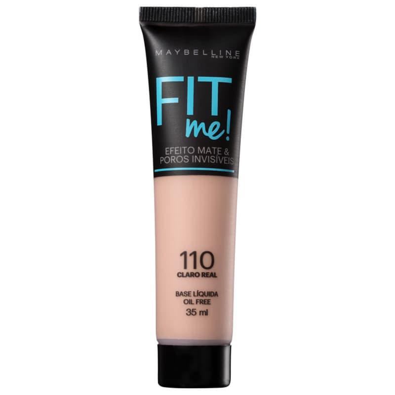 Maybelline Fit Me! Toque Matte + Fresh 110 - Base Líquida 35ml