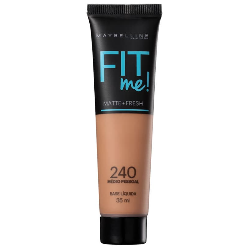 Maybelline Fit Me! Toque Matte + Fresh 240 - Base Líquida 35ml