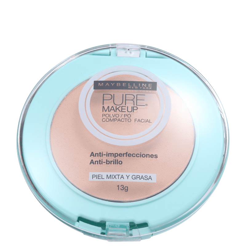 Maybelline Pure Makeup Natural - Pó Compacto Natural 13g