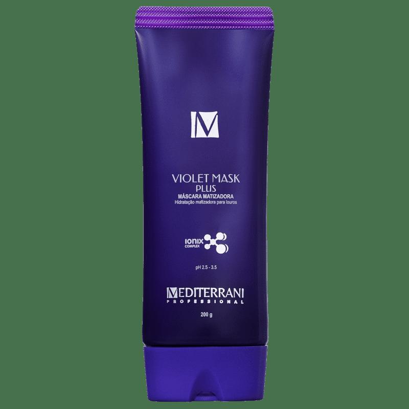 Mediterrani Violet Mask - Máscara Matizadora 200g