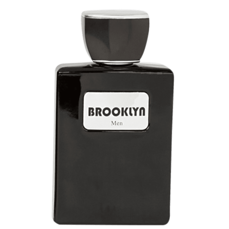 Men Black Brooklyn Via Paris Eau de Toilette - Perfume Masculino 100ml