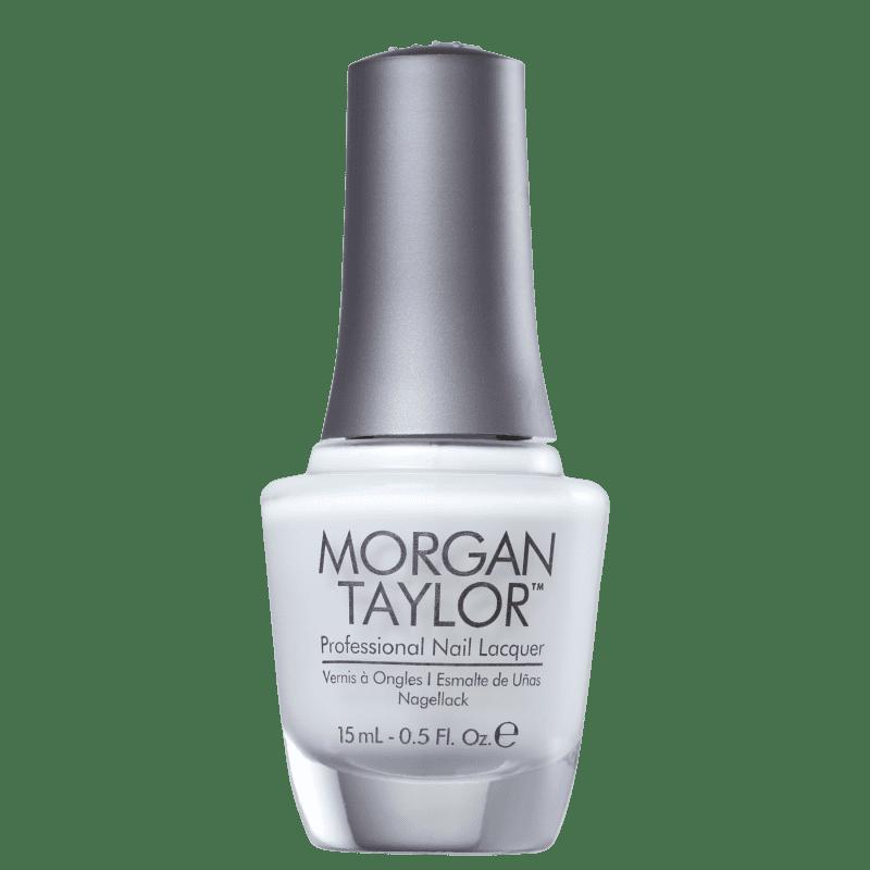 Morgan Taylor All White Now 01 - Esmalte Cremoso 15ml
