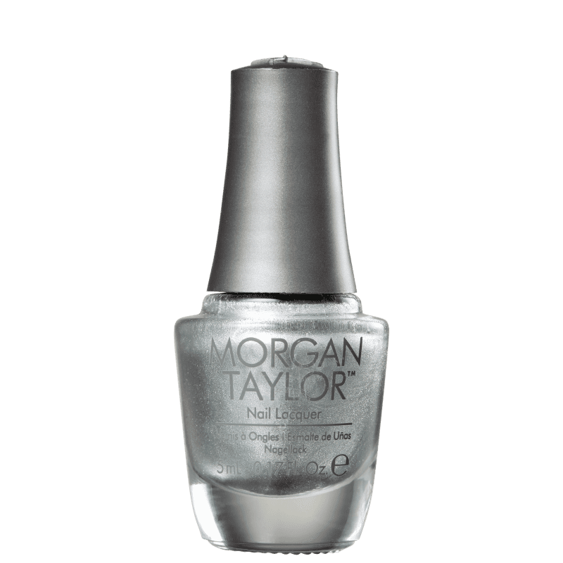 Morgan Taylor Chrome Mini Silver 71 - Esmalte Metálico 5ml