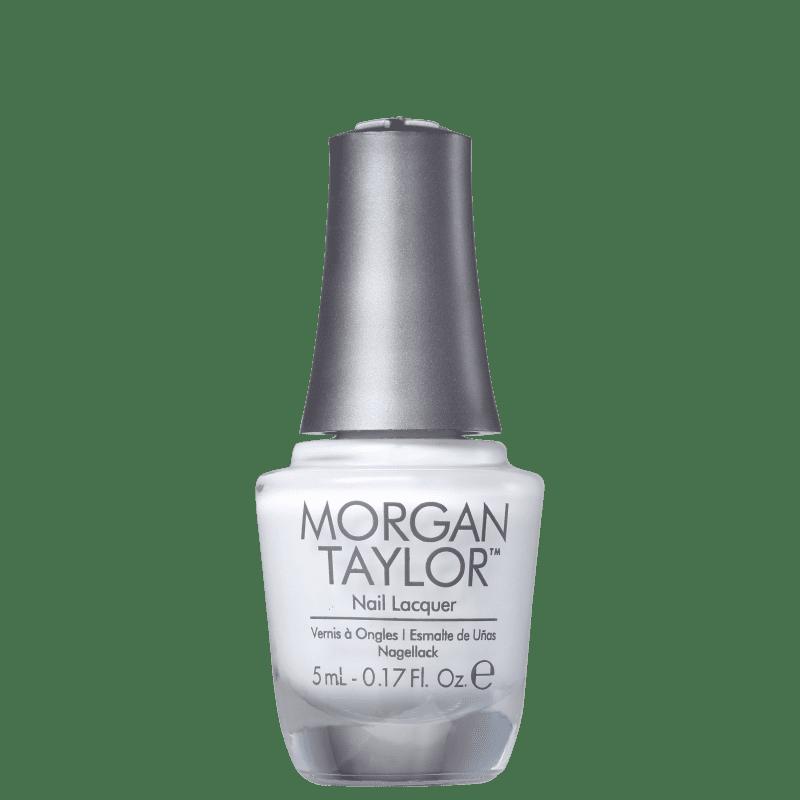 Morgan Taylor Mini All White Now 01 - Esmalte Cremoso 5ml