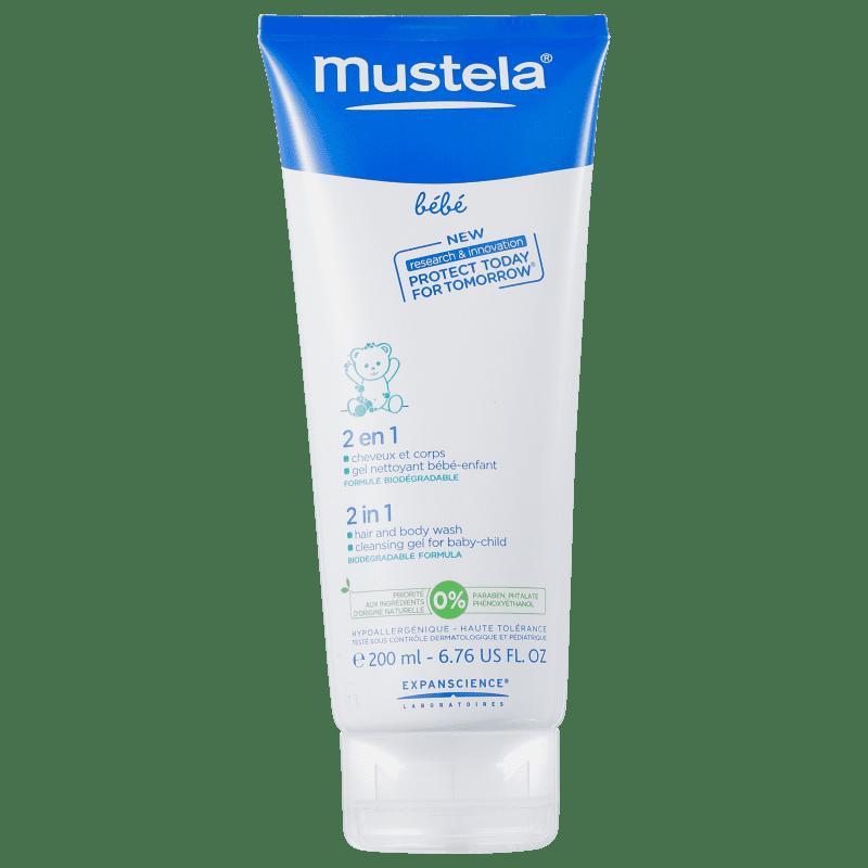 Mustela Bébé 2 En 1 Cheveux Et Corps - Gel 2 em 1 200ml