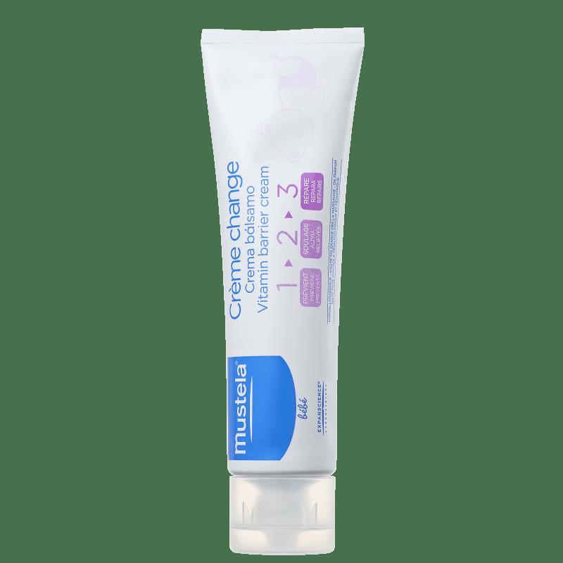 Mustela Bébé Creme Vitaminado Preventivo 123 - Creme para Assaduras 110g