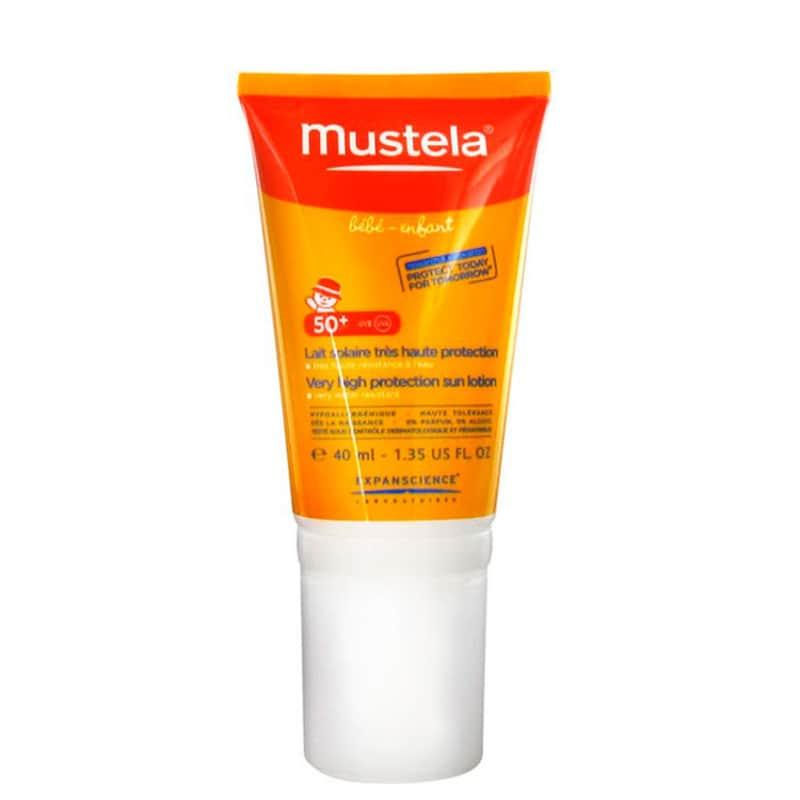 Mustela Solaires Bébé-Enfant FPS 50 - Protetor Solar Infantil 40ml