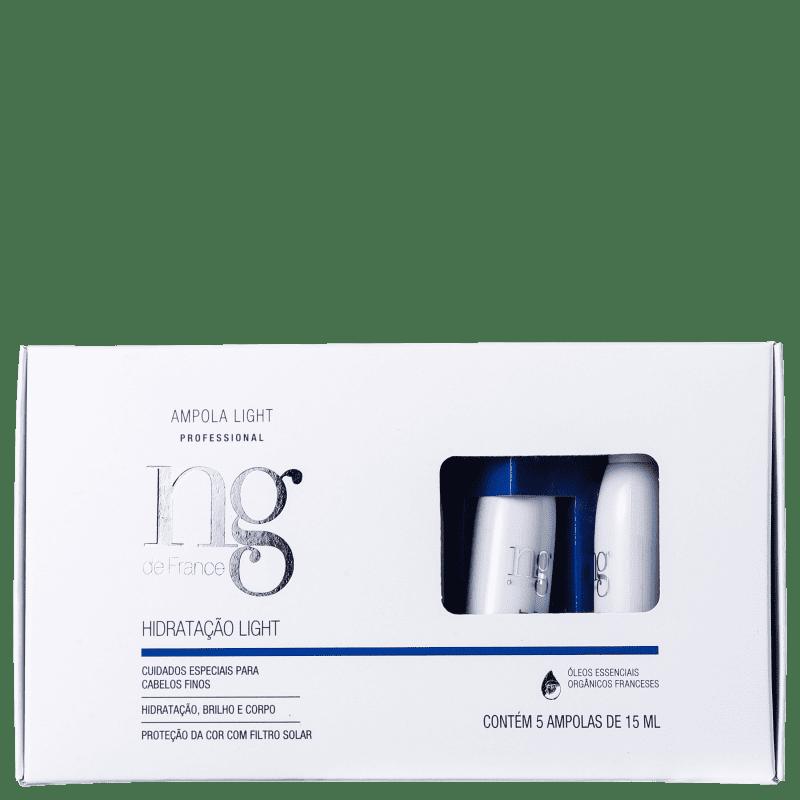 NG de France Light - Ampola de Hidratação 5x15ml