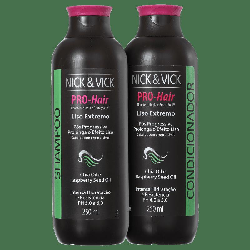 Kit Nick & Vick PRO-Hair Liso Extremo (2 Produtos)