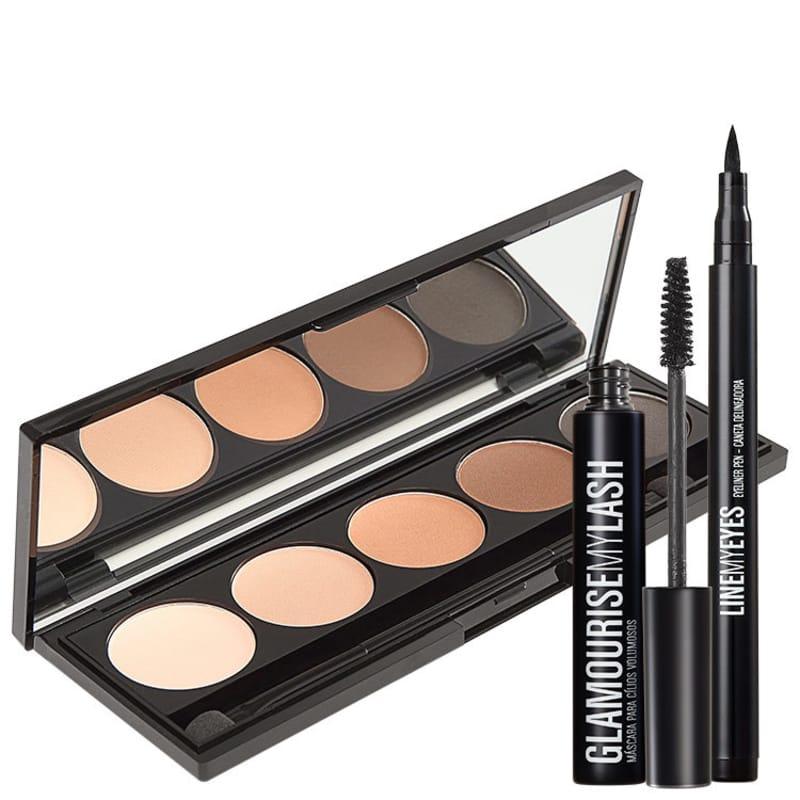 Kit Océane Make Me Ready Glamourise (3 produtos)
