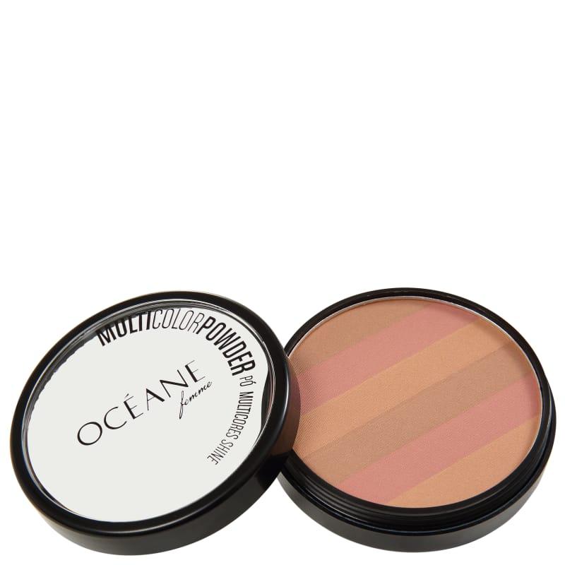 Océane Multicolor Powder Bronzer - Pó 3 em 1 7,2g
