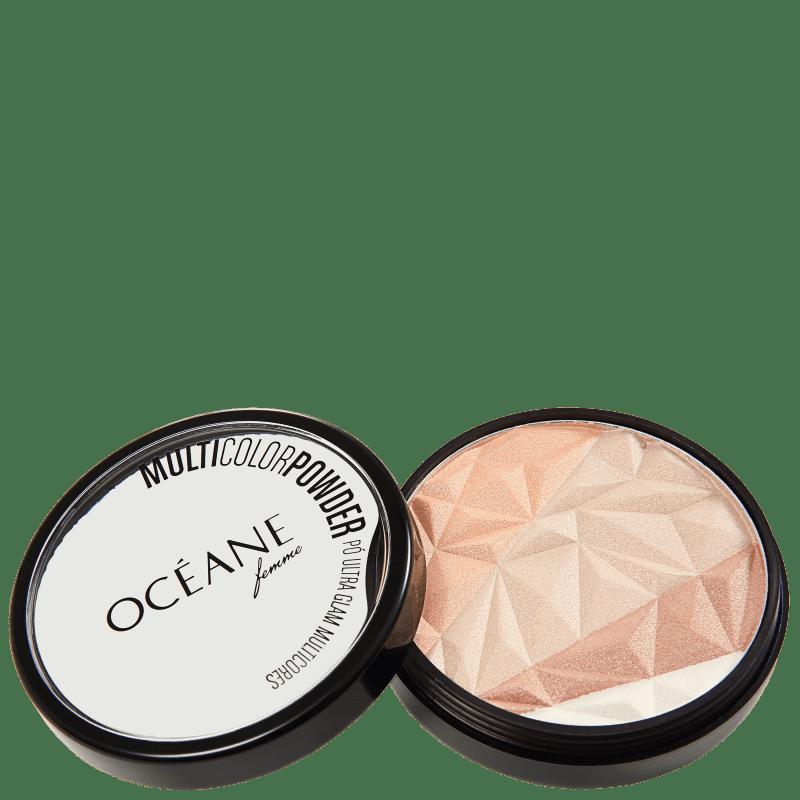 Multicolor Powder Ultra Glam - Pó 3 em 1 9,5g