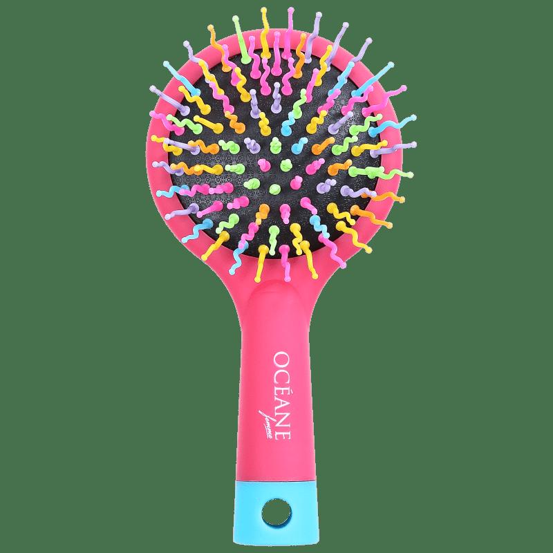 Océane Rainbow Brush Cereja - Mini Escova de Cabelo