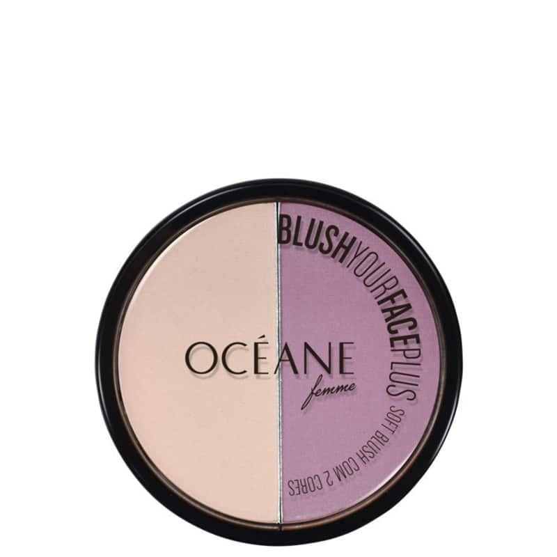 Océane Your Face Plus Purple - Blush Matte 7,2g