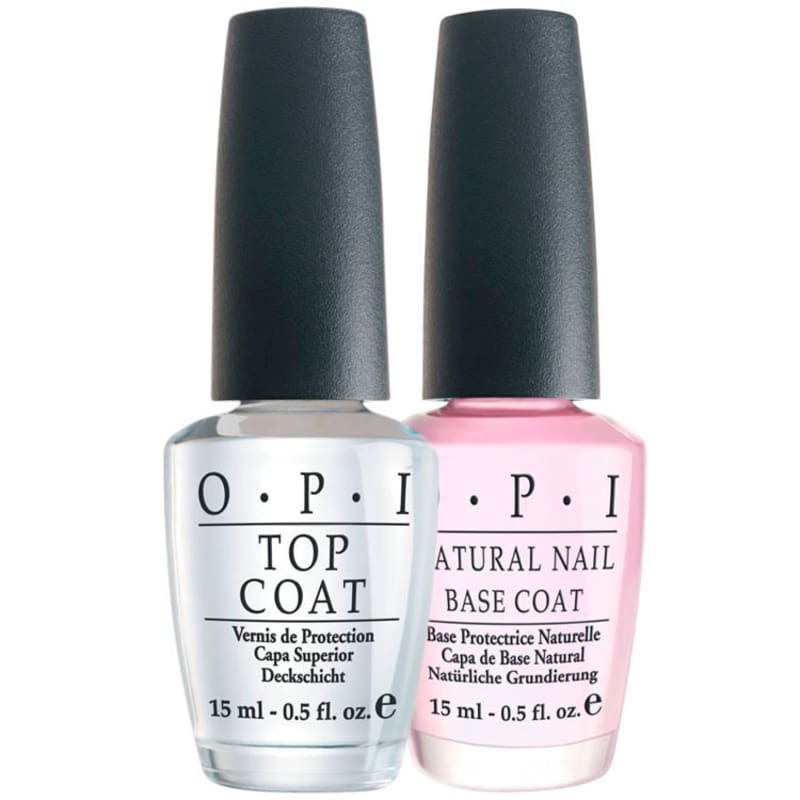 OPI Natural Nail Base Coat + Ds Top Coat Kit (2 Produtos)