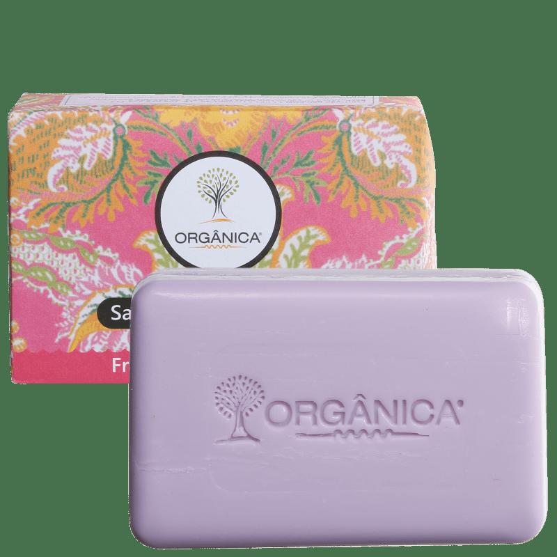 Orgânica Puro Vegetal Framboesa e Orquídea - Sabonete em Barra 90g