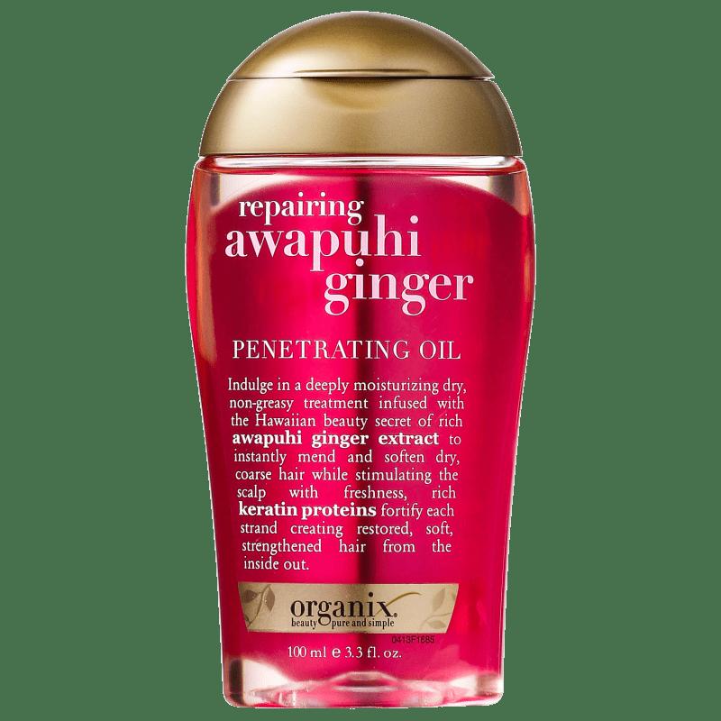 Organix Awapuhi Ginger Dry Styling - Óleo Capilar 100ml