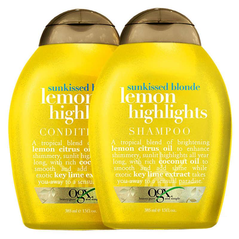 Organix Lemon Highlights Duo Kit (2 Produtos)