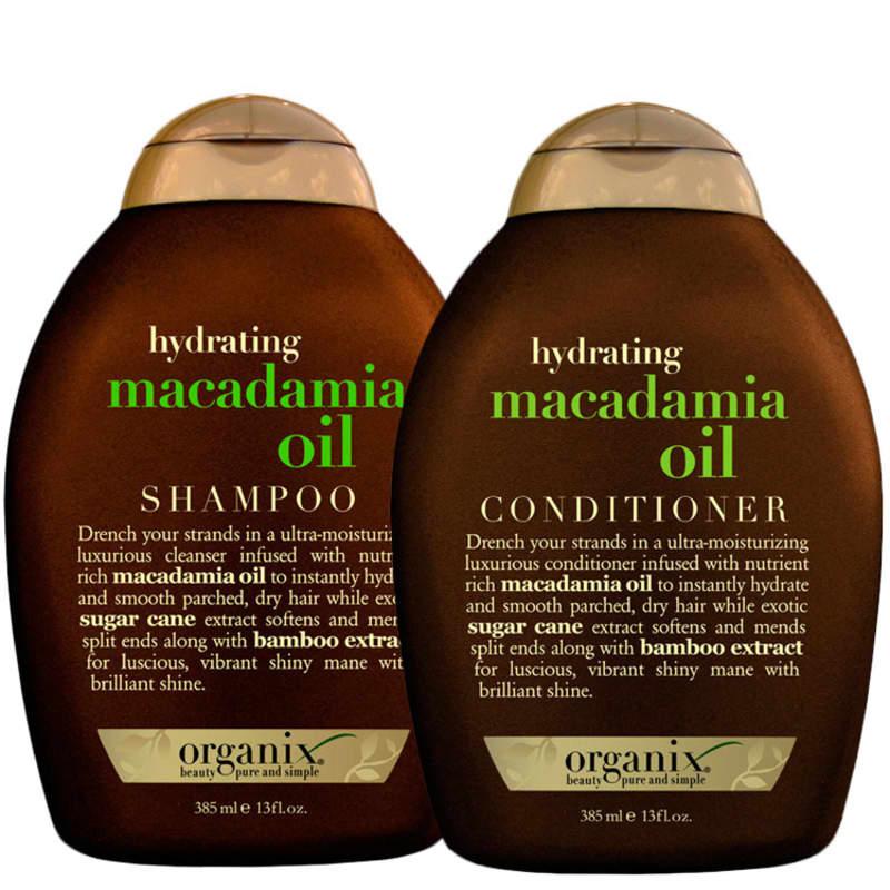 Organix Macadamia Oil Duo Kit (2 Produtos)