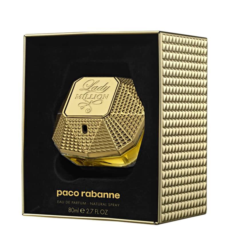 Lady Million Paco Rabanne Edição Limitada Eau de Parfum - Perfume Feminino 80ml