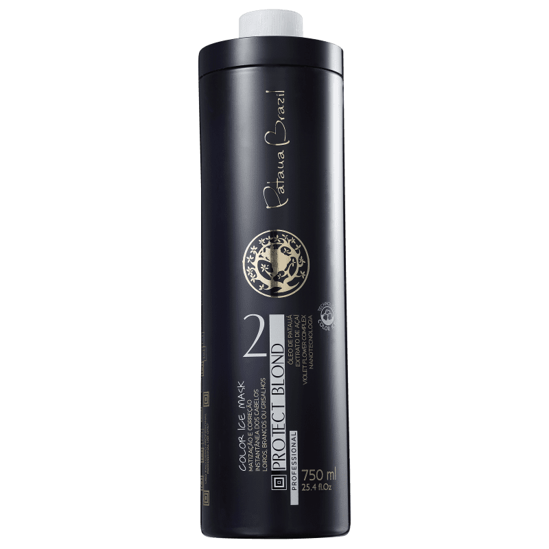 Pataua Brazil Protect Blond Color Ice - Máscara Matizadora 750ml