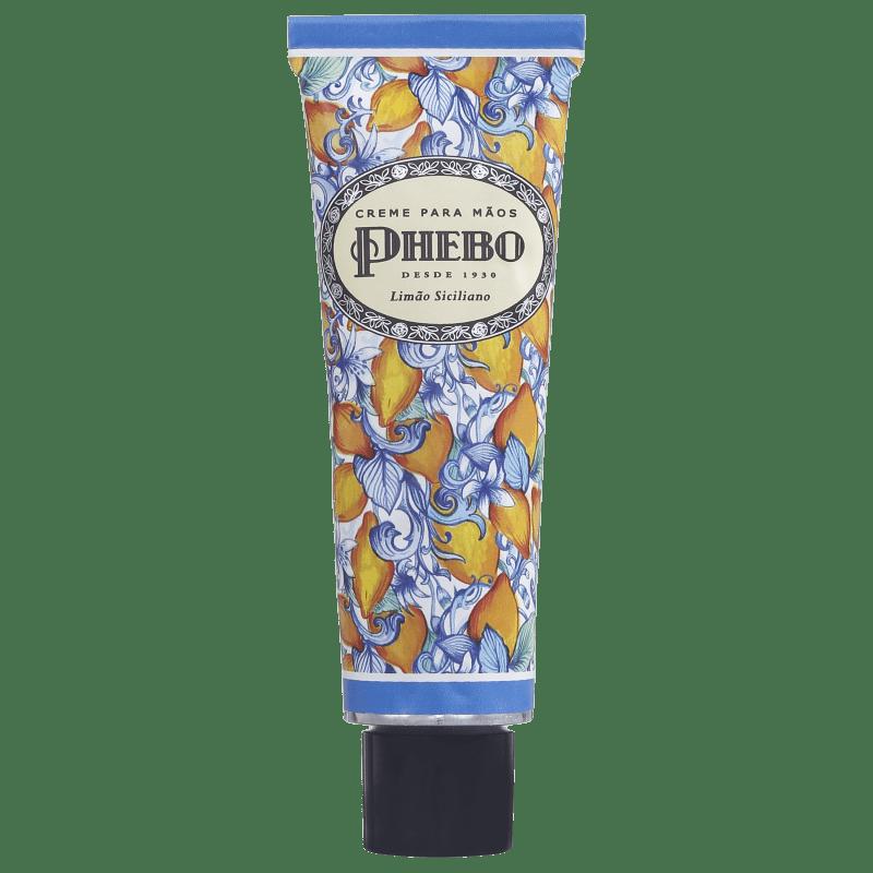 Phebo Mediterrâneo Limão Siciliano - Creme para as Mãos 50ml