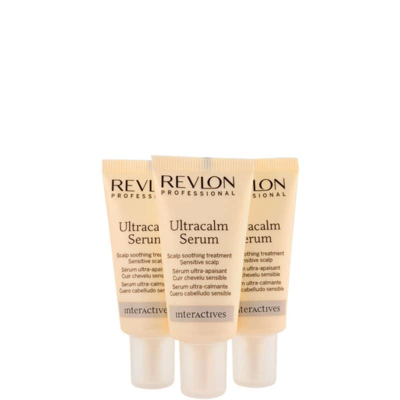 Revlon Professional SOS Calm Ultracalm - Sérum Capilar 3x18ml
