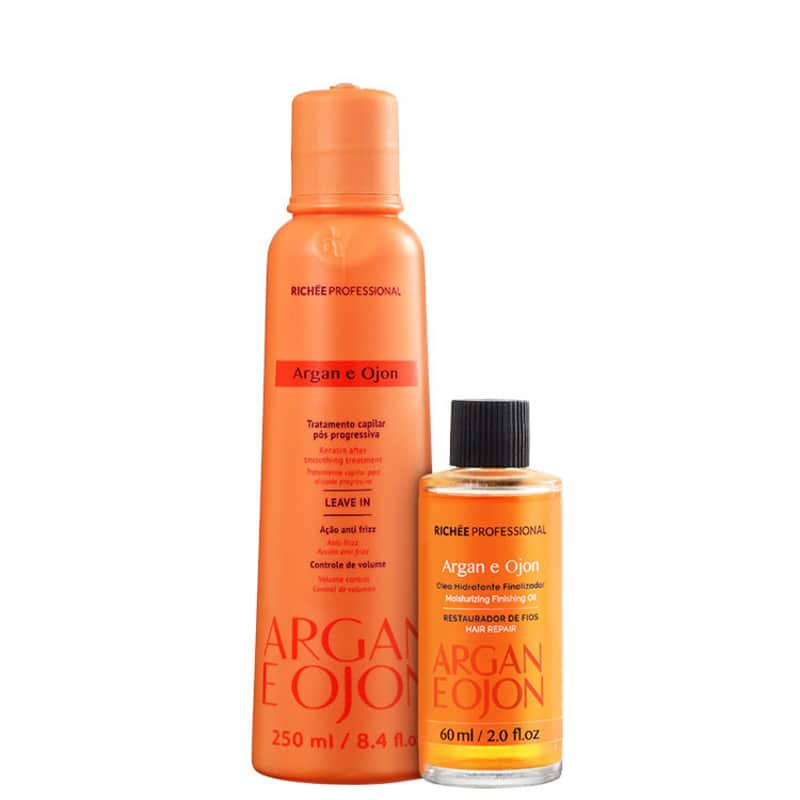 Kit Richée Professional Argan e Ojon Protect (2 Produtos)