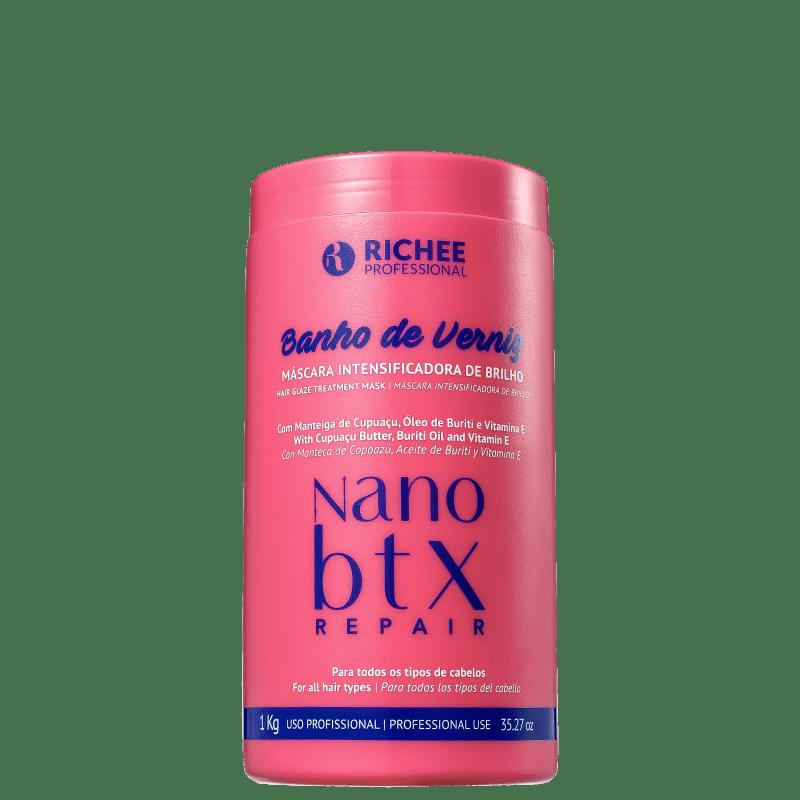 Richée Professional Nano Botox Repair Banho de Verniz - Máscara Capilar 1000g