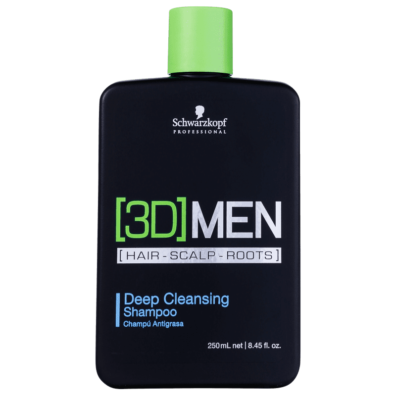 Schwarzkopf Professional 3DMension Deep Cleansing - Shampoo Antirresíduo 250ml