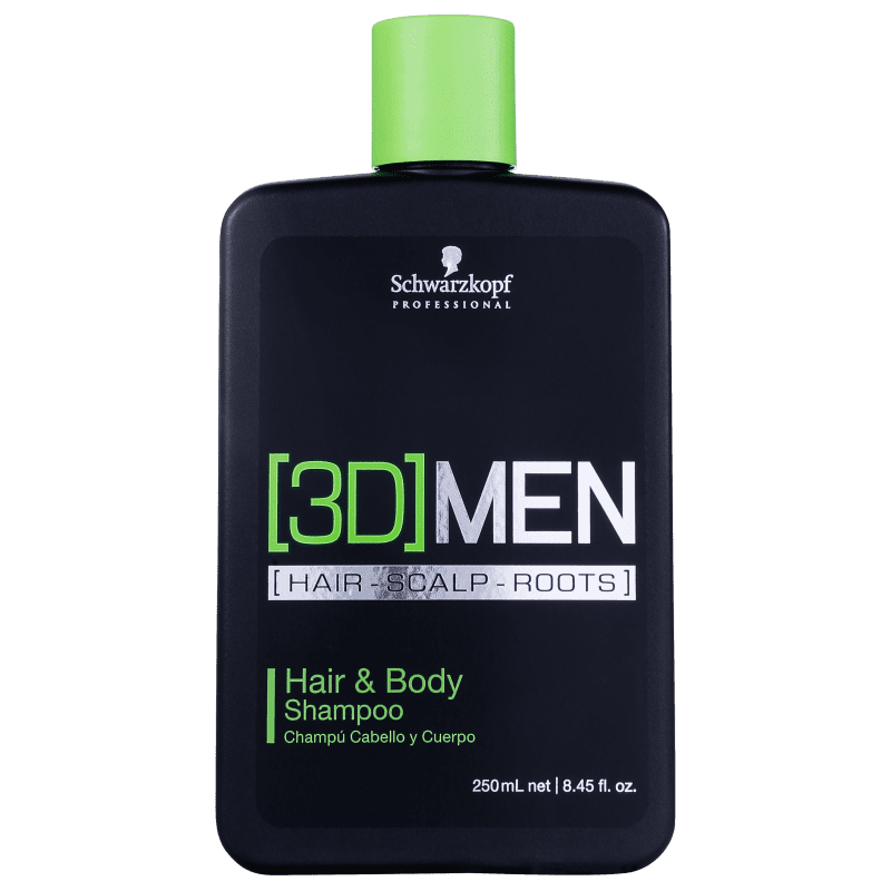 Schwarzkopf Professional 3DMension Hair & Body - Shampoo 250ml