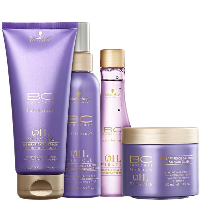 Kit Schwarzkopf Professional BC Bonacure Oil Miracle Barbary Fig (4 Produtos)