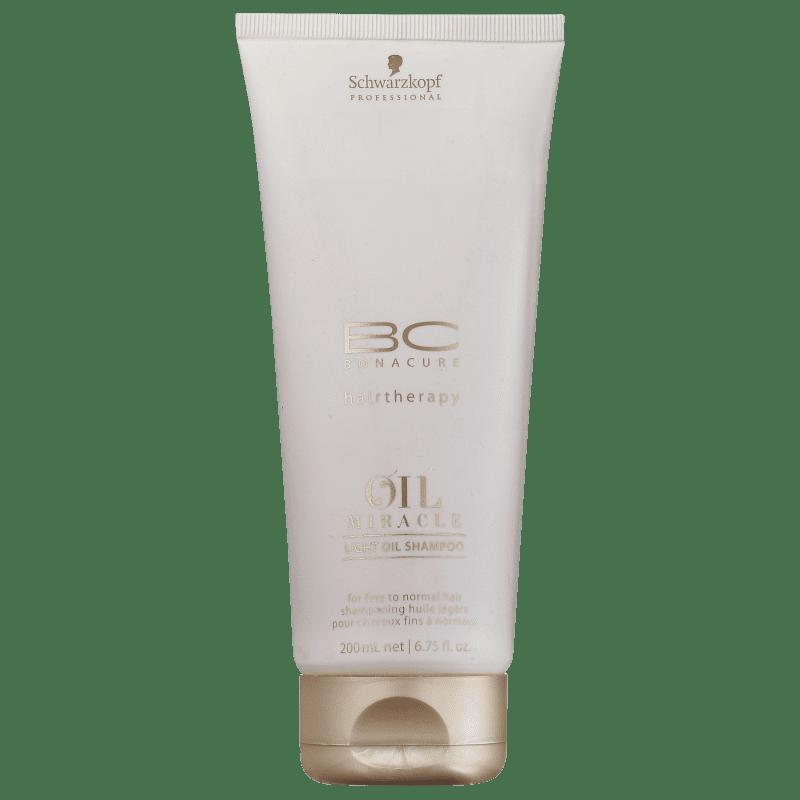 Schwarzkopf Professional BC Bonacure Oil Miracle Light - Shampoo 200ml